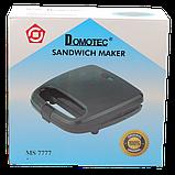 Бутербродница сендвичница Domotec MS-7777 (4117), фото 4