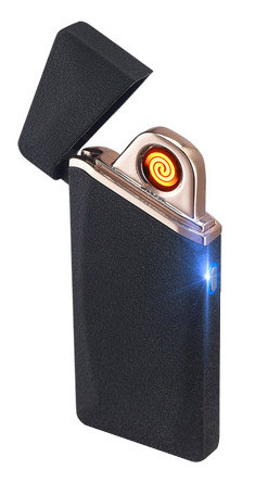 Спиральная электрическая USB зажигалка UKC ZC110 (5280)