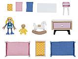 Набор мебели (детская комната) для кукольного дома PlayTive Junior, фото 3