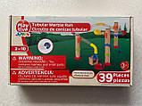 Мраморный гоночный лабиринт Tubulea Playtive Junior 39 элементов, фото 5