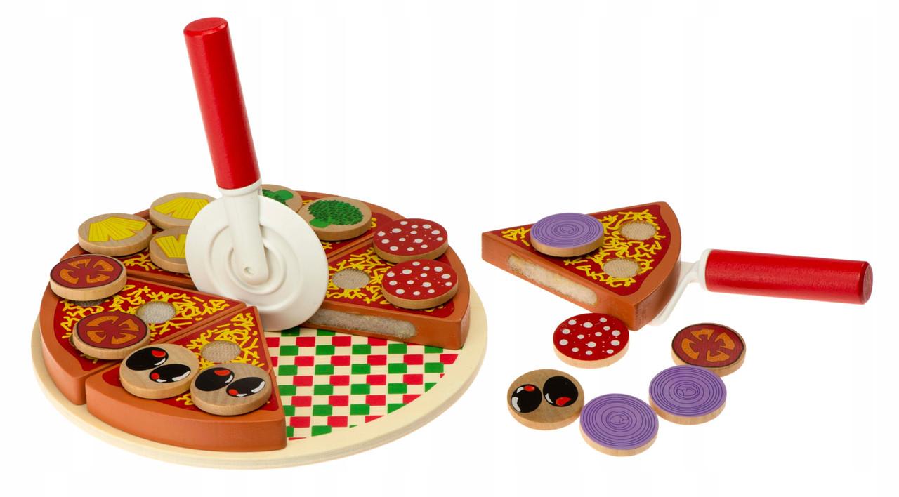 Деревянный набор Pizza PlayTive