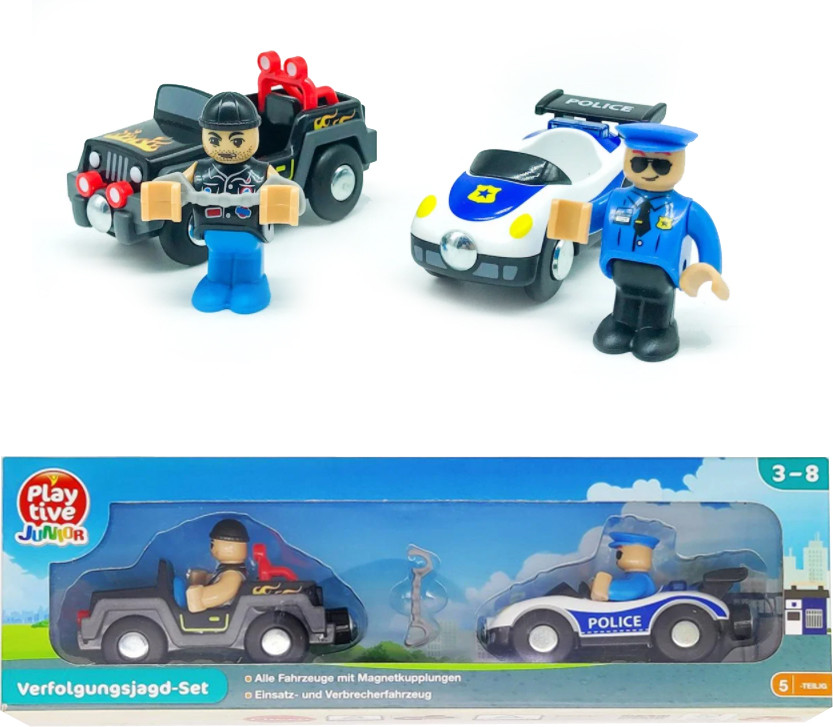 """Игровой набор PlayTive Junior """"полицейское преследование"""""""
