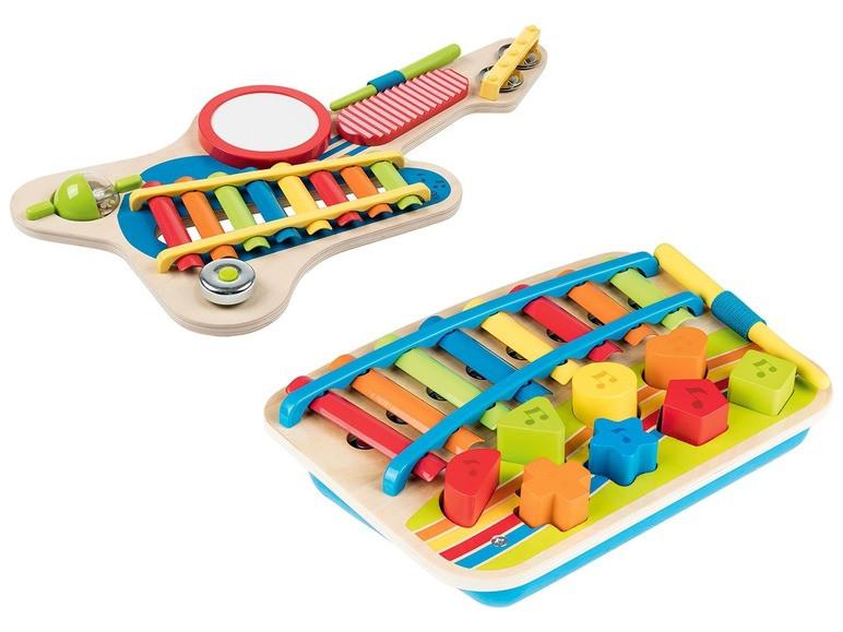 Деревянный музыкальный инструмент (ксилофон и гитара) PLAYTIVE®JUNIOR