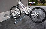 Велопарковка на 4 велосипеди Smile-4 Польща, фото 2
