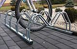 Велопарковка на 4 велосипеди Smile-4 Польща, фото 5