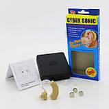 Слуховой аппарат Cyber Sonic + 3 батарейки (0893), фото 6