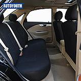 Авто чохол на авто універсальний Чорний колір матеріал Поліестер накидка на авто, фото 4