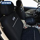 Авто чехол на авто универсальный Черный цвет материал Полиэстер накидка на авто, фото 6