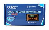 Солнечный контроллер UKC 10A LD-510A, контроллер для солнечной батареи (2836), фото 3