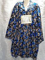 Женский халат на байки 10Хл-18Хл