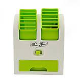 Міні-кондиціонер вентилятор Mini Fan UKC HB-168 зелений, фото 2