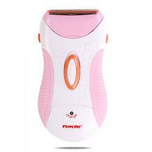 Эпилятор женская аккумуляторная электробритва Nikai NK-7699 розовая