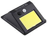 Світильник UKC SH-1605 з датчиком руху і сонячною панеллю настінний вуличний 350 люмен (4514), фото 3