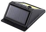 Світильник UKC SH-1605 з датчиком руху і сонячною панеллю настінний вуличний 350 люмен (4514), фото 4