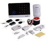 Сенсорная GSM сигнализация для дома с датчиком движения и WIFI Alarm JYX-W-G600, фото 4