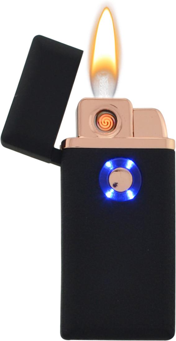 Электрическая зажигалка спиральная 2 в 1 705 + Газ (5408)