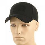 Бейсболка тактическая (кепка) з липучкой (Черный), фото 4