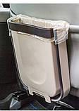 Мусорный контейнер Wet Garbage Container складной (на дверцу) (случайный цвет) (7158), фото 9