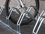 Велопарковка на 5 велосипедів Smile-5 Польща, фото 2