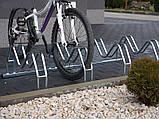 Велопарковка на 5 велосипедів Smile-5 Польща, фото 4