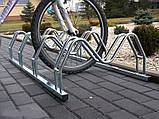 Велопарковка на 5 велосипедів Smile-5 Польща, фото 6