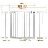 Детские ворота безопасности (межкомнатный барьер) Maxigate (168-177см), фото 6
