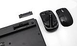 Беспроводная клавиатура и мышь mini keyboard БЕЛЫЙ, фото 5