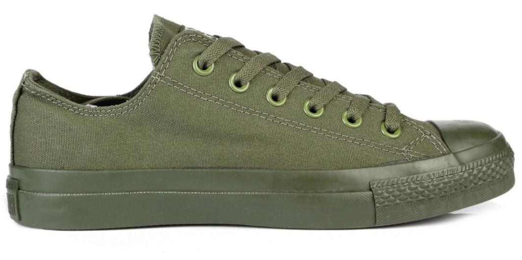 Кеды Converse All Stars Monohrome Green (зеленые) 36