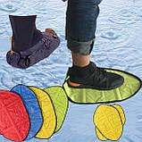 Автоматические многоразовые бахилы Reusable Portable Automatic Shoe (микс цветов), фото 7