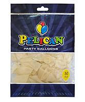 Шарики Pelican 12' (30 см), прозрачный 1250-800, 50шт/уп