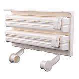 Triple Paper Dispenser Кухонний диспенсер для паперових рушників, харчової плівки і фольги, фото 4