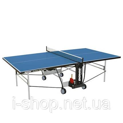 Теннисный стол Donic Outdoor Roller 800-5/ Синий, фото 2
