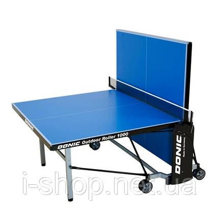 Теннисный стол Donic Outdoor Roller 1000/ Синий, фото 2