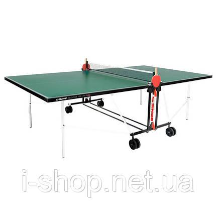 Теннисный стол Donic Indoor Roller Fun/ зеленый, фото 2