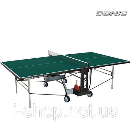 Теннисный стол Donic Indoor Roller 800/ зеленый, фото 2