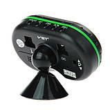Часы автомобильные VST-7009V с индикацией заряда АКБ (Вольтметр), и двумя термо датчиками (3803), фото 5