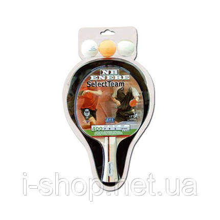Комплект Enebe Select Team (1 ракетка, 1 чехол, 3 мяча), фото 2