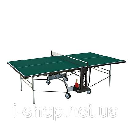 Теннисный стол Donic Outdoor Roller 800-5/ Зелёный, фото 2