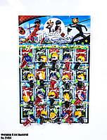 Игровые фигурки Леди Баг (на листе) 21454 оптом