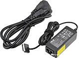 Блок питания для ноутбуков Asus 15V 1.2A 18W TF101 40 Pin + кабель питания (3085), фото 2