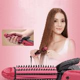Стайлер 3 в 1 (утюжок, щипцы, гофре) Nova NHC-8890 Pink (2537), фото 4