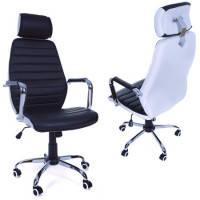 Офісне крісло Vecotti чорно-біле, фото 1