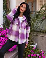 Куртка рубашечного кроя в расцветках 80183, фото 1