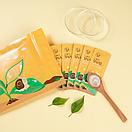 Набір нічних масок Laikou Snail Anti-Wrikle проти старіння шкіри 3 g (20 штук упаковка), фото 4