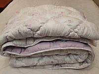 Одеяло зимнее теплое 155х210 ОДА холлофайбер  ткань микрофибра разные цвета