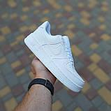 Женские кроссовки Nike Air Force 1 Белые, фото 6