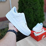 Женские кроссовки Nike Air Force 1 Белые, фото 8