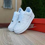 Женские кроссовки Nike Air Force 1 Белые, фото 5