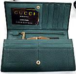 Женский бордовый кошелек Chanel из натуральной кожи на магните, фото 3