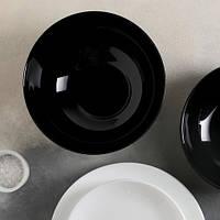 Салатник черный стеклокерамический Luminarc Diwali Black 18 см (P0864)